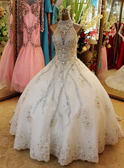 : wedding dresses with bling
