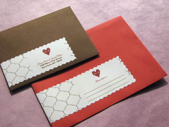 Wedding Invitation Envelopes