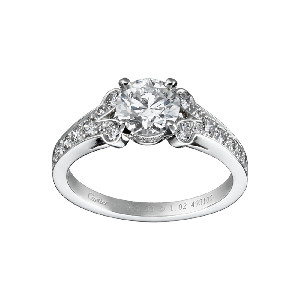 : wedding ring cartier