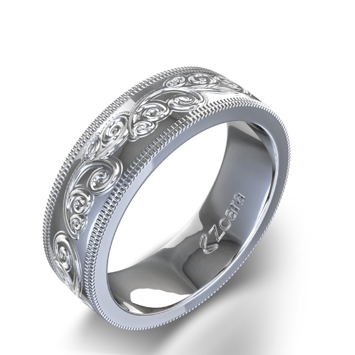 : wedding ring engraving for him