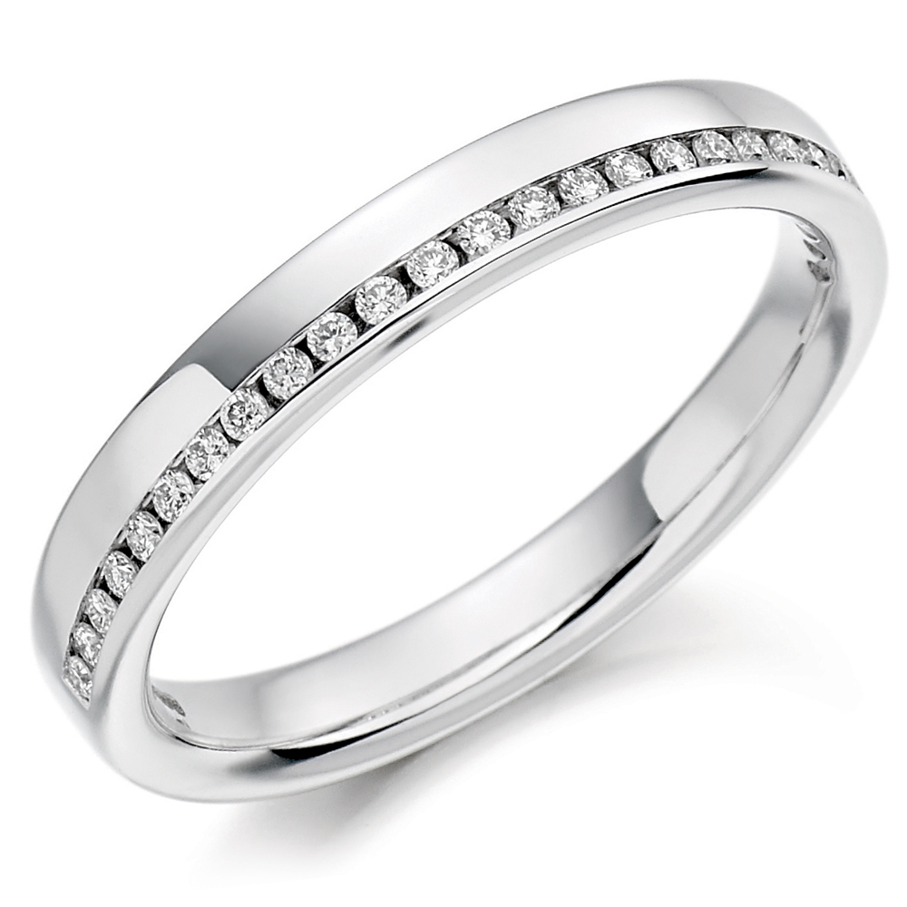 : wedding rings white gold