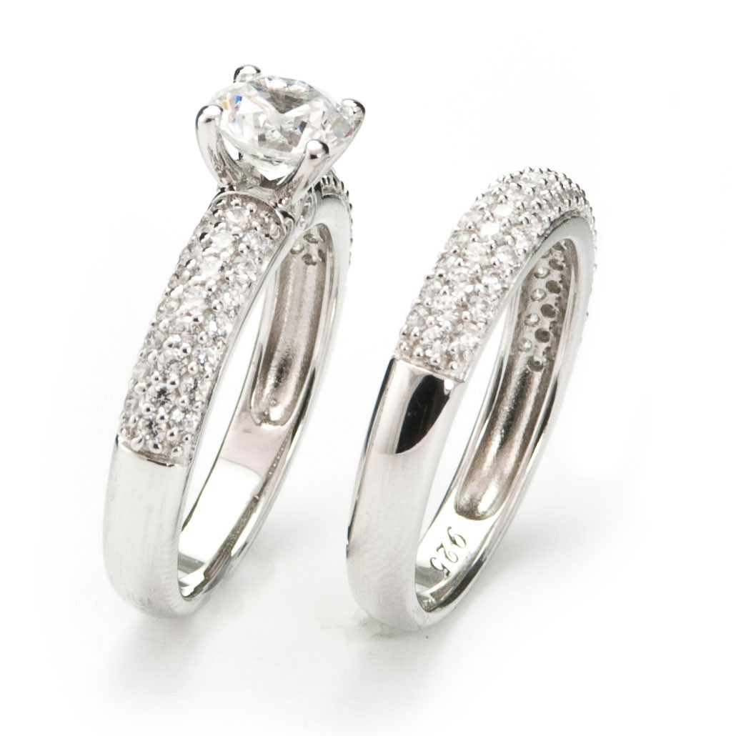 : wedding set rings