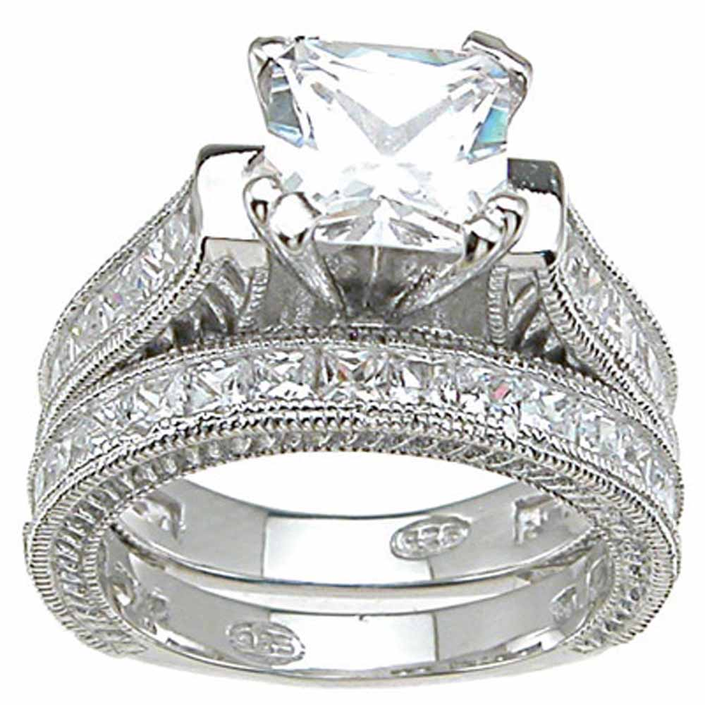 The diamond wedding ring sets wedding ideas and wedding for Diamond wedding ring images