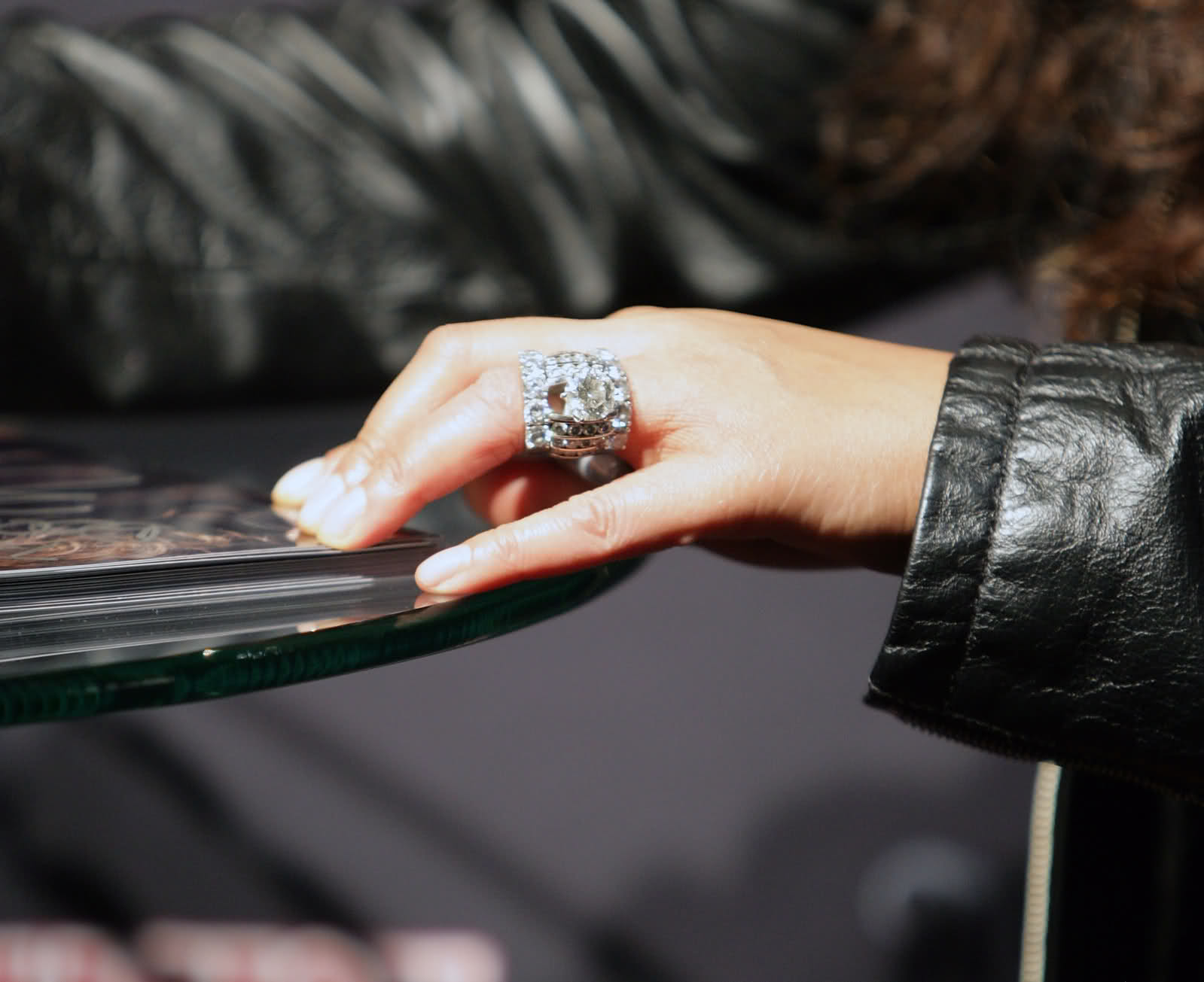 : wendy williams wedding ring up close