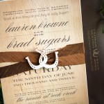 : western wedding invitation templates