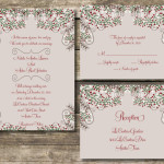 : winter wedding invitation wording