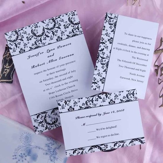Winter Wedding Invitations Cheap Wedding Ideas And Wedding