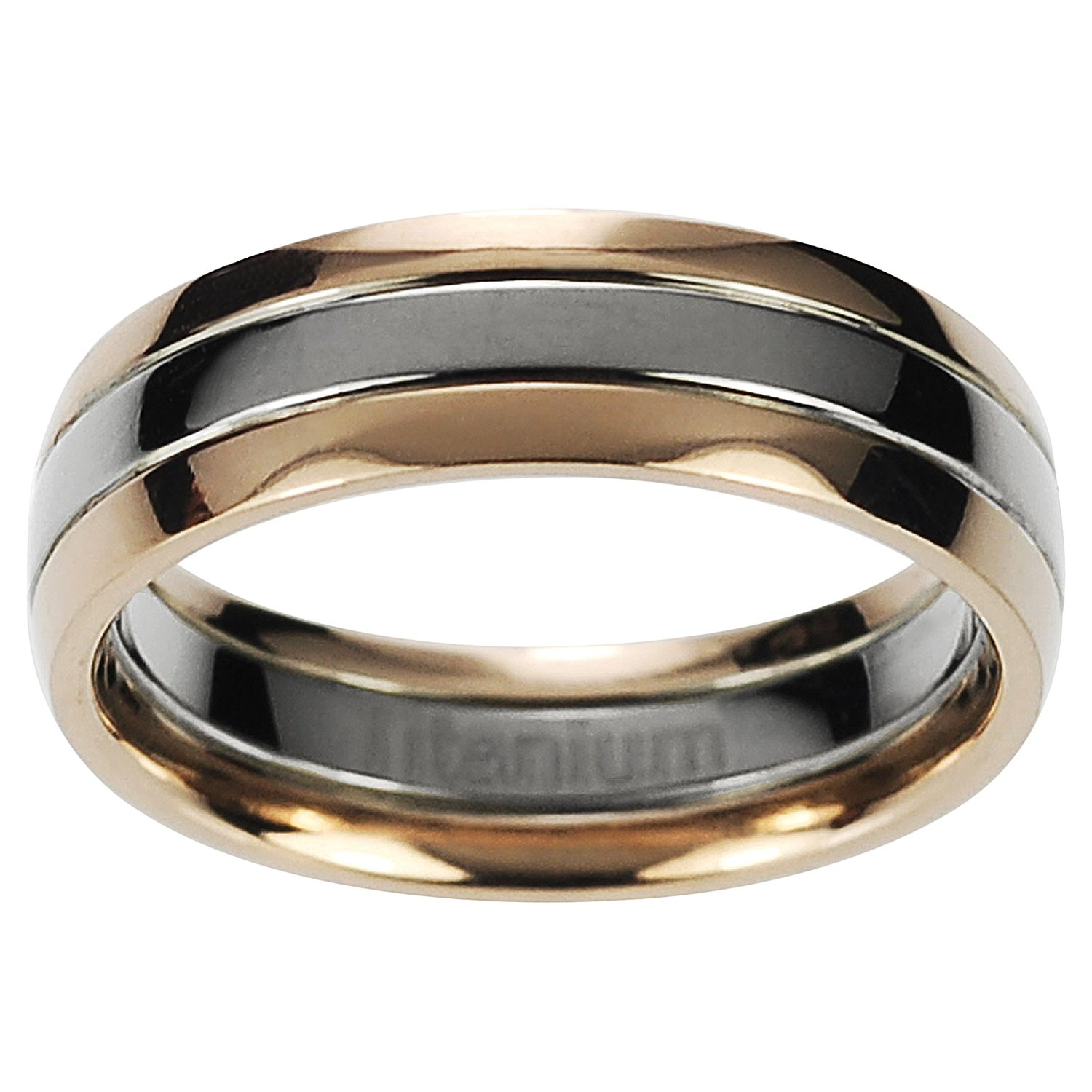 : womens titanium wedding rings