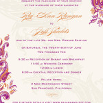 : wording for wedding invitation