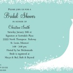 : wording for wedding shower invitations