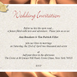 : wording wedding invitations