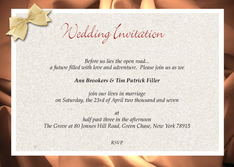 wording wedding invitations | Wedding Ideas and Wedding ...