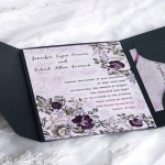 : affordable pocket wedding invitations