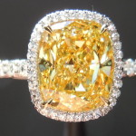 The Canary Engagement Diamond Rings