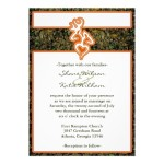 : camo wedding invitations to make