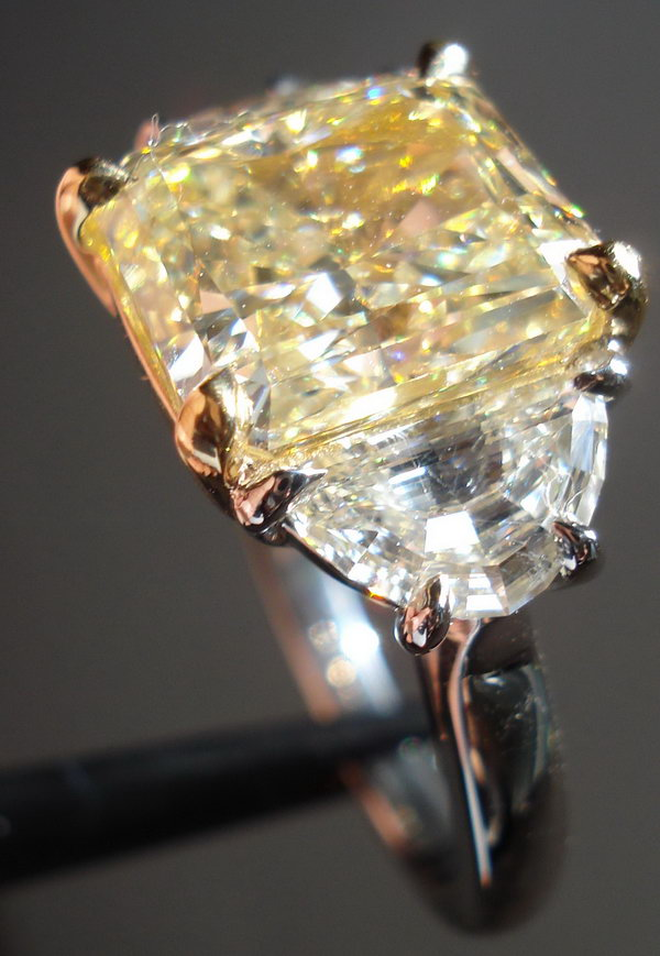 : canary diamond engagement rings for sale