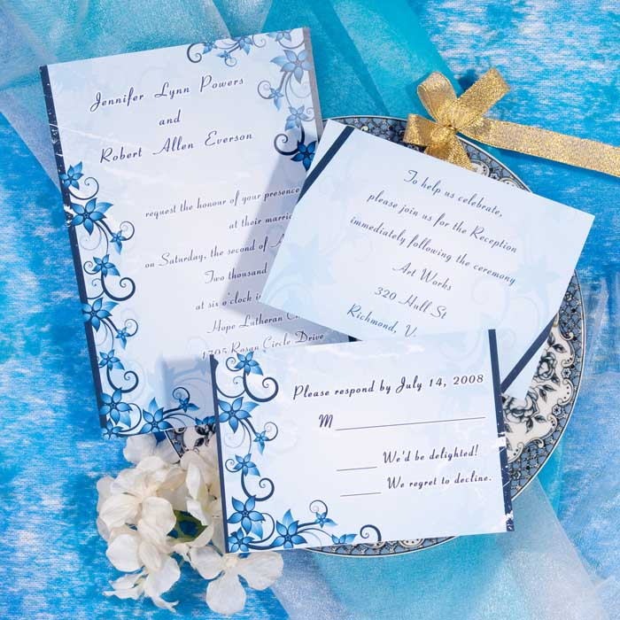 cheap nautical wedding invitations