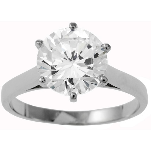 : cubic zirconia engagement rings