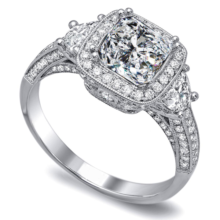 : diamond engagement rings