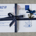 : diy nautical wedding invitations