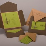 : diy pocket wedding invitations