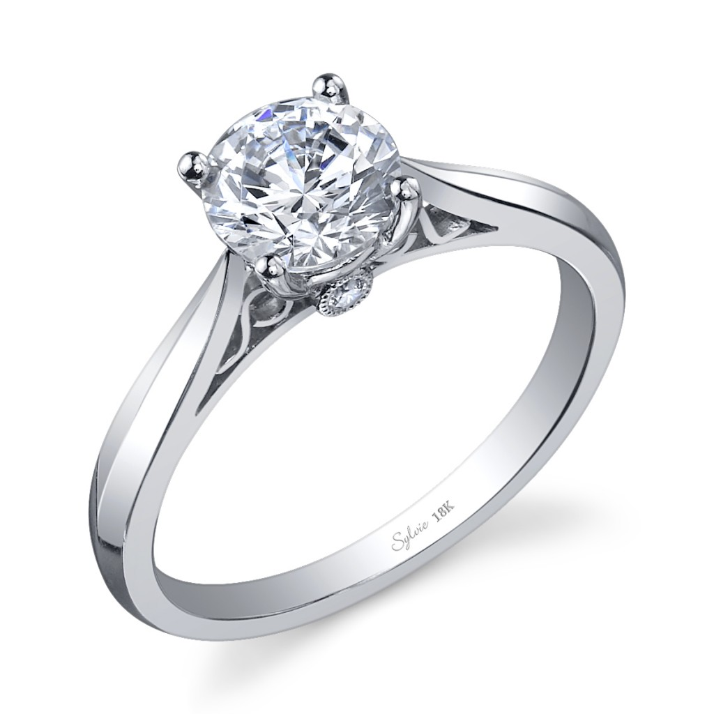 : engagement ring settings