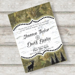 : free camo wedding invitation templates
