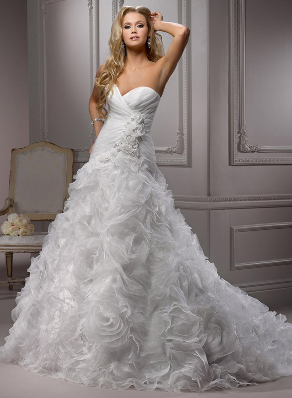 how much are maggie sottero wedding dresses