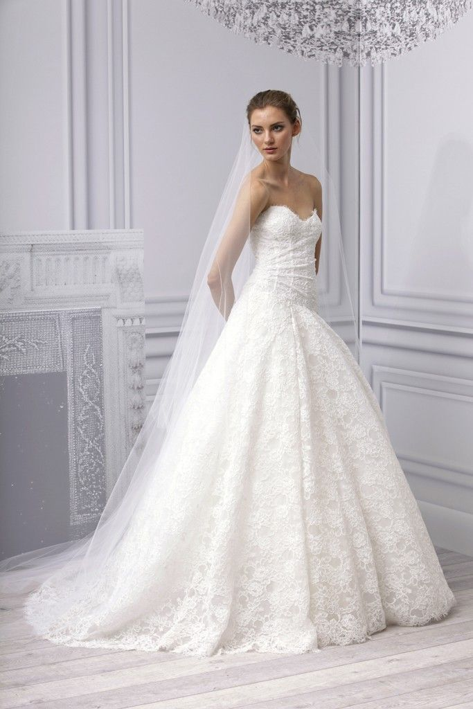 monique lhuillier wedding dress prices