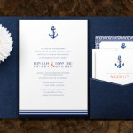 : nautical wedding invitations