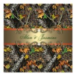 : realtree camo wedding invitations