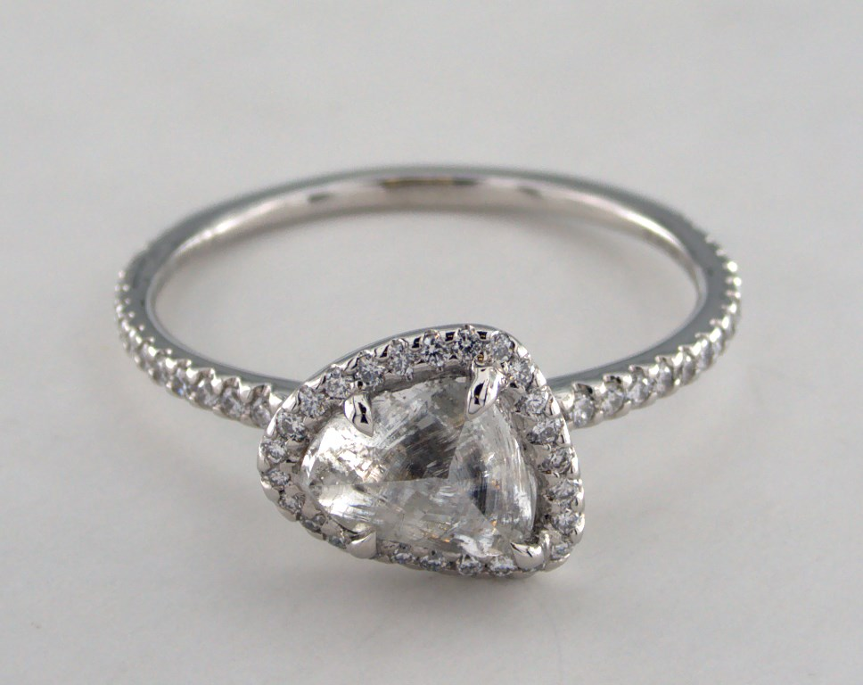 : unique diamond rings