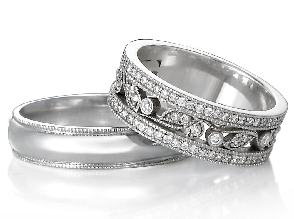 : unique diamond wedding rings