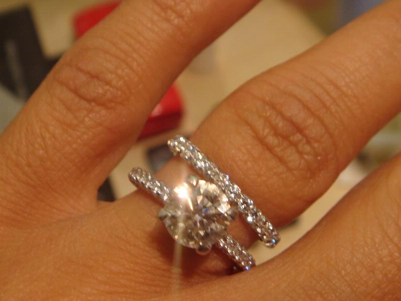 : wedding enhancer rings